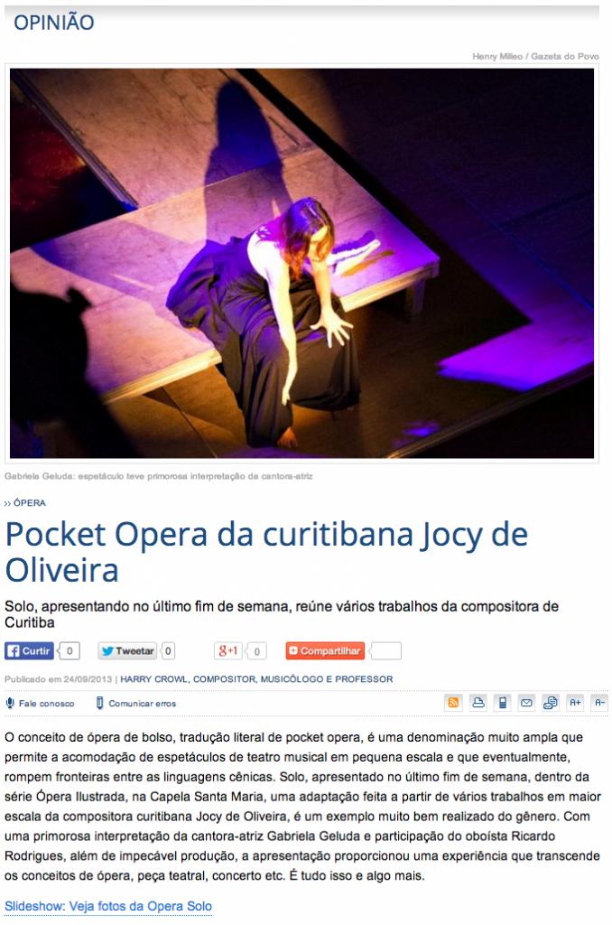 Henry Milleo | Gazeta do Povo, 24/09/2013
